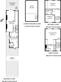 Large floorplan for De Beauvoir Road, De Beauvoir Town, N1