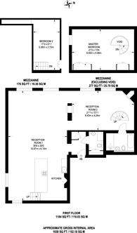 Large floorplan for Prioress Street, Borough, SE1