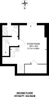 Large floorplan for Allan Way, Acton, W3