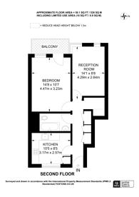 Large floorplan for Whitecross Street, Clerkenwell, EC1Y