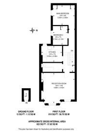 Large floorplan for Eastbury Grove, Glebe Estate, W4