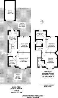 Large floorplan for Welbeck Close, New Malden, KT3
