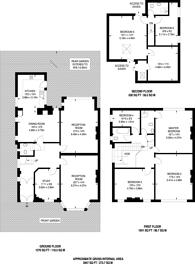 Large floorplan for Earlsthorpe Road, Sydenham, SE26
