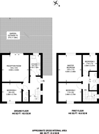 Large floorplan for Huntingfield Road, Putney, SW15