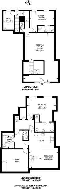 Large floorplan for Lovat Lane, City, EC3R