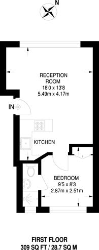 Large floorplan for London Road, Enfield Town, EN2