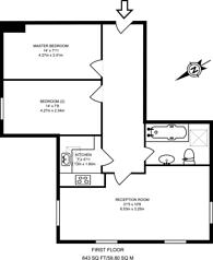 Large floorplan for Wandle Road, Morden, SM4
