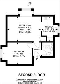 Large floorplan for Claremont Road, Harrow Weald, HA3