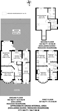 Large floorplan for Nibthwaite Road, Harrow, HA1