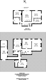 Large floorplan for Private Road, Bush Hill Park, EN1