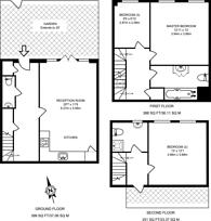 Large floorplan for Oak Tree Mews, Willesden, NW2