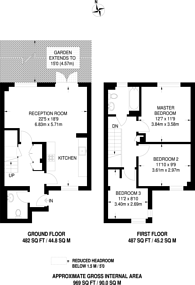 Large floorplan for Greenroof Way, Greenwich Millennium Village, SE10