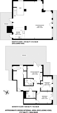Large floorplan for Maurer Court, Mudlarks Boulevard, Greenwich, SE10