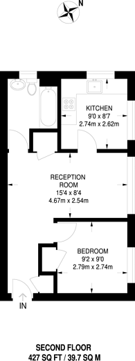 Large floorplan for Dacres Road, Forest Hill, SE23