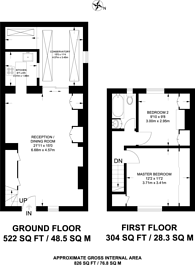Large floorplan for Mulberry Place, Hammersmith, W6