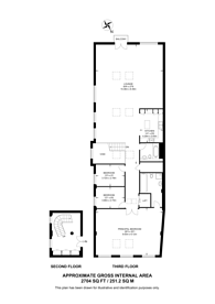 Large floorplan for Execution Dock, Wapping, E1W