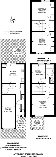 Large floorplan for Amity Road, Stratford, E15