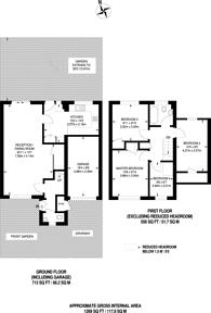 Large floorplan for Wayborne Grove, Ruislip, HA4