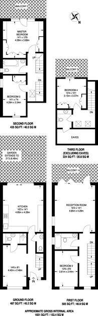 Large floorplan for Pointers Close, Isle Of Dogs, E14