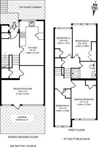 Large floorplan for Goodyer House, Pimlico, SW1V