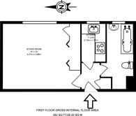 Large floorplan for Willesden Lane, Brondesbury, NW6