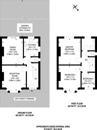 Large floorplan for King Charles Road, Surbiton, Surbiton, KT5