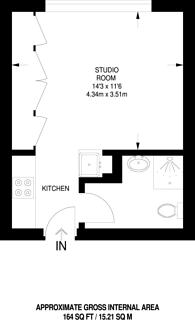 Large floorplan for Buckingham Gate, St James's, SW1E