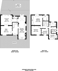 Large floorplan for Chestnut Grove, Woking, GU22