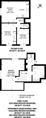 Large floorplan for Chiswick High Road, Chiswick, W4