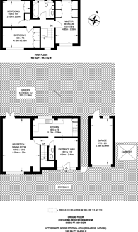 Large floorplan for Ivanhoe Drive, Harrow, HA3