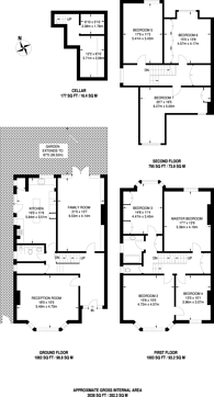 Large floorplan for Beech House Road, Croydon, CR0