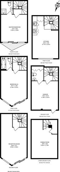 Large floorplan for Dereham Place, Shoreditch, EC2A