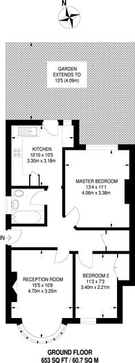 Large floorplan for Cavendish Avenue, Harrow, HA1