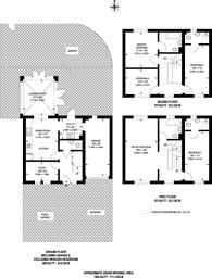 Large floorplan for Creswick Road, Acton, W3
