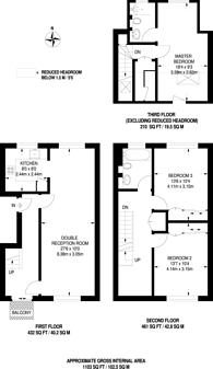 Large floorplan for Mylne Close, Stamford Brook, W6