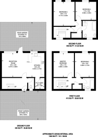 Large floorplan for Cromer Terrace, Dalston, E8