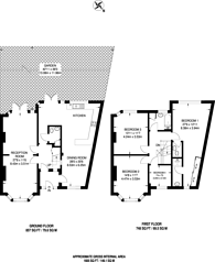 Large floorplan for Ivere Drive, High Barnet, EN5