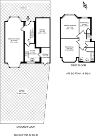 Large floorplan for Lowther Drive, Oakwood, EN2