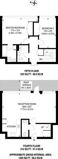 Large floorplan for Ferry Lane, Brentford, TW8