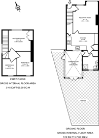 Large floorplan for High Street, Old Woking, GU22
