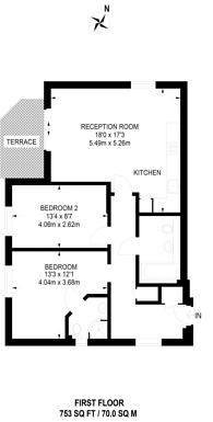 Large floorplan for Paul Street, Stratford, E15