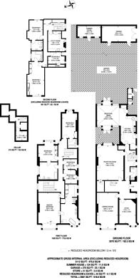 Large floorplan for Clapham Common South Side, Abbeville Village, SW4