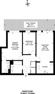Large floorplan for Eaton Road, Enfield, EN1