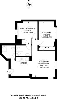 Large floorplan for Marsham Street, Westminster, SW1P