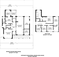 Large floorplan for Uphill Road, Mill Hill, NW7