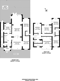 Large floorplan for Ashbourne Road, Ealing, W5