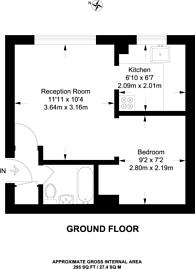 Large floorplan for Viking Place, Leyton, E10
