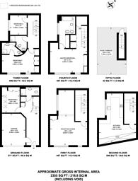 Large floorplan for Ormond Yard, St James's, SW1Y
