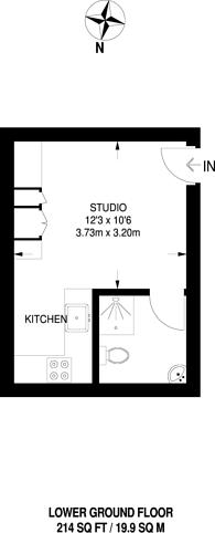 Large floorplan for Stoke Road, Guildford, GU1