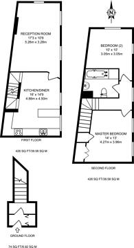 Large floorplan for Gillingham Street, Pimlico, SW1V